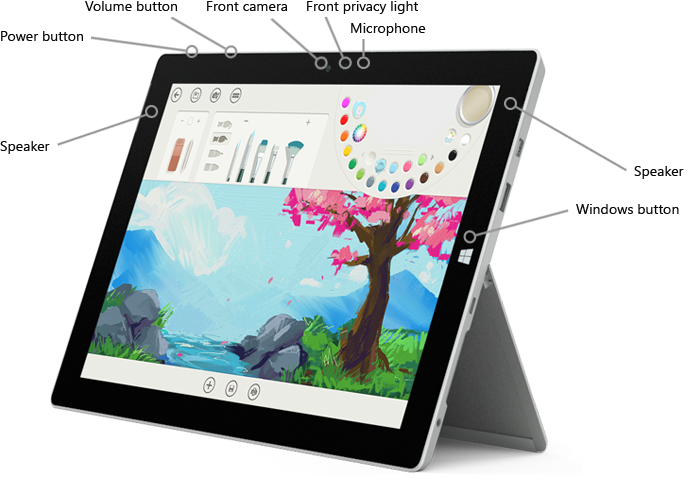 2015 Surface 3 Tablet Features