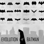 All batman logos past and present