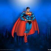 Awesome-Superman-Background