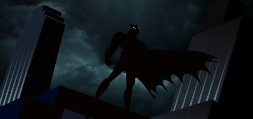 Batman animated cartoon background