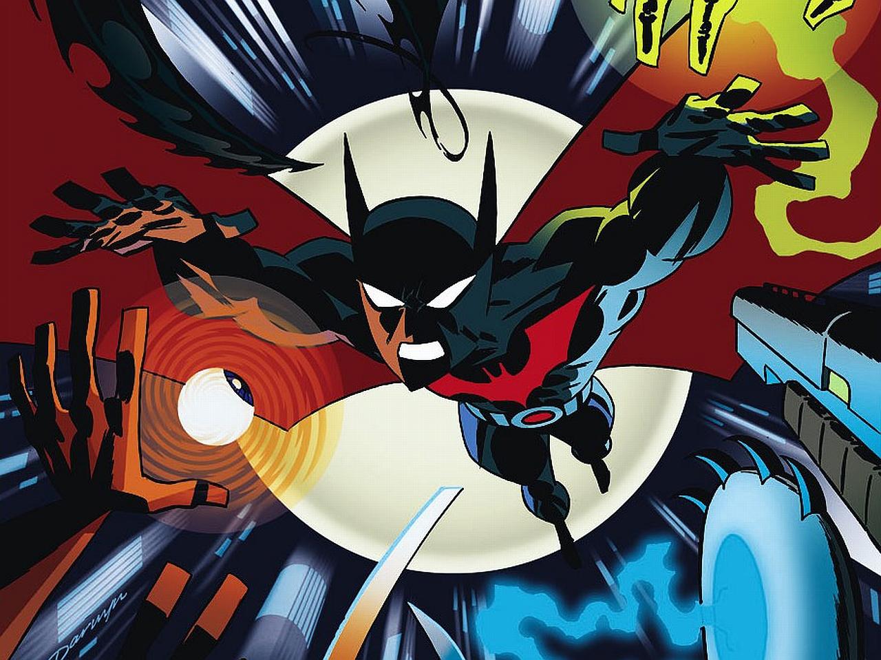 Chibi-batman-beyond windows mode.