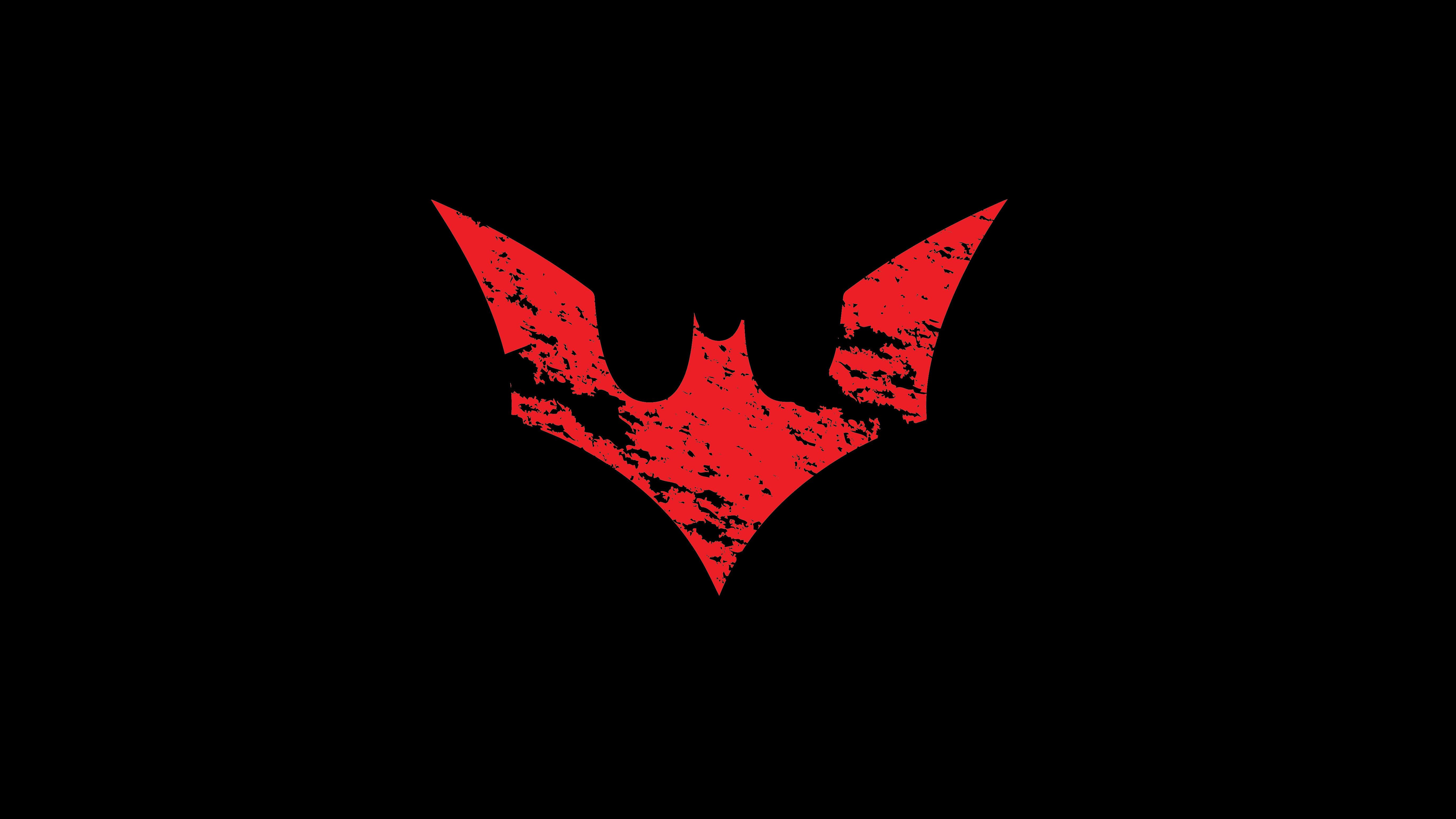 Batman Red Logo Windows Mode