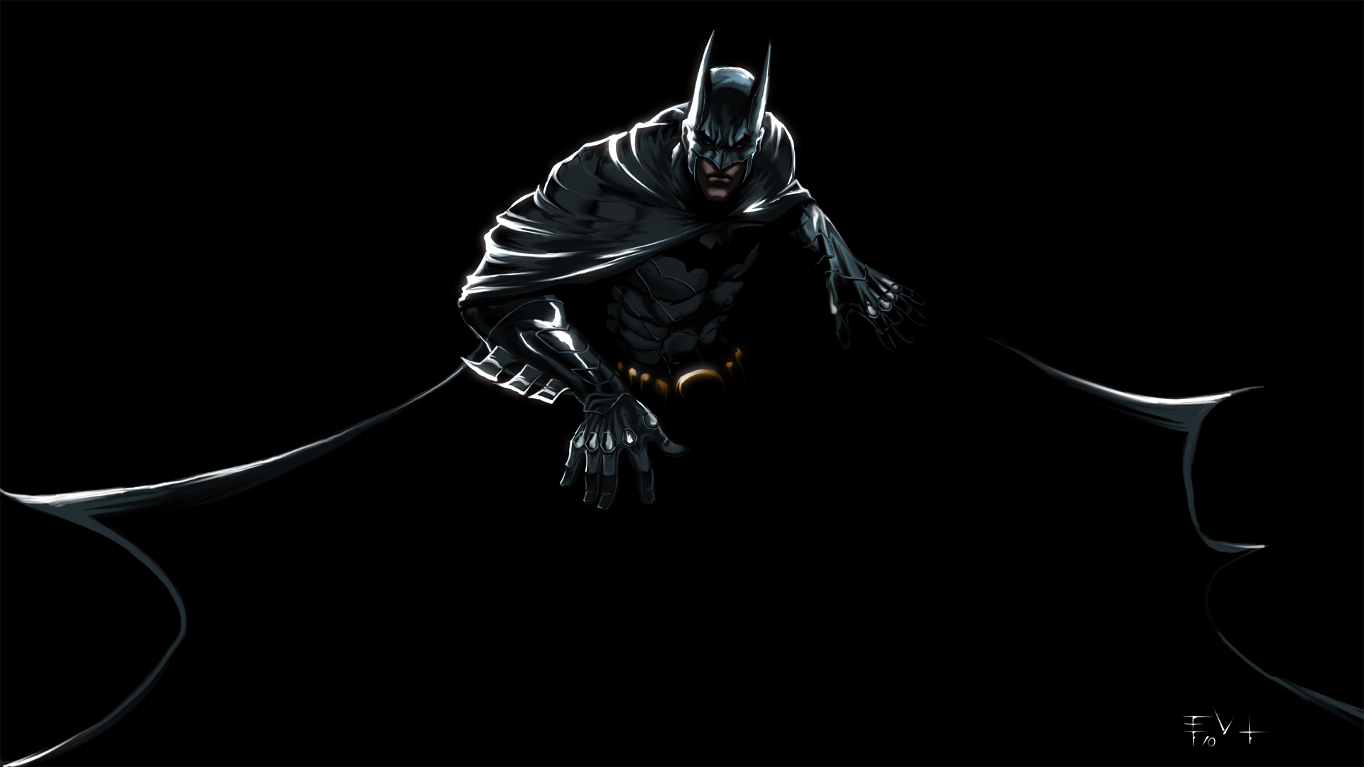 black-batman-wallpaper - windows mode