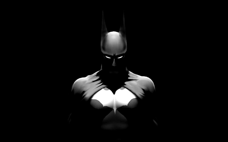 Black-and-White-Batman - Windows Mode
