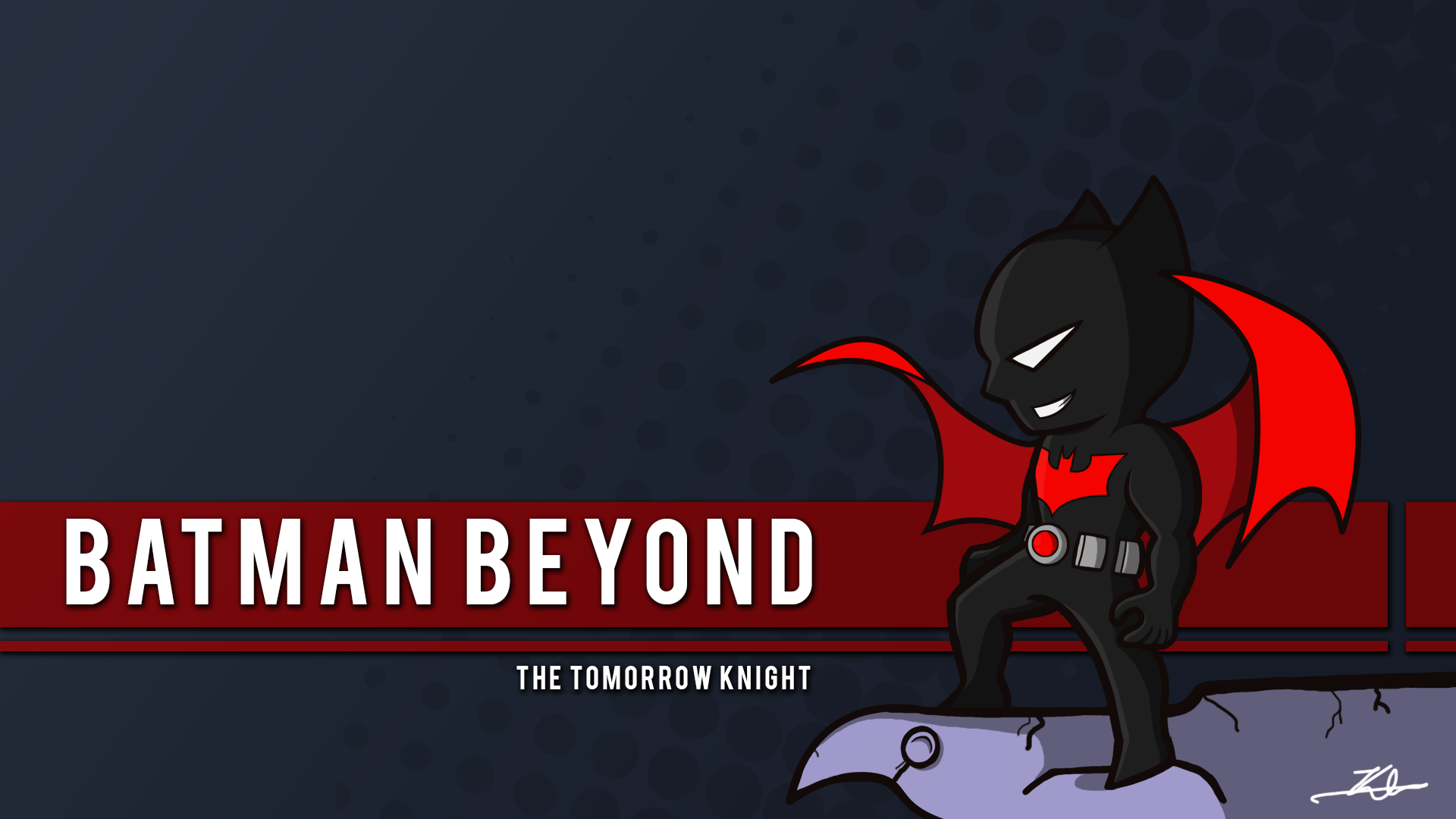Face the future: download a free batman beyond mask | dc.