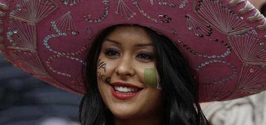 Mexican girl soccer fan hot