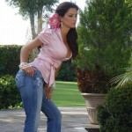 Ninel conde in jeans