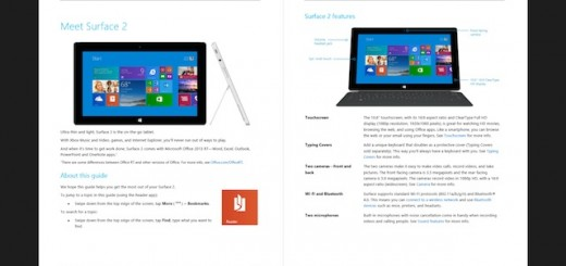 Official surface user manual