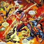 Superboy prime kills lanterns