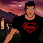 Superboy with kid flash