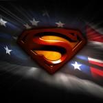 Superman american flag