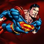 Superman cool cartoon look