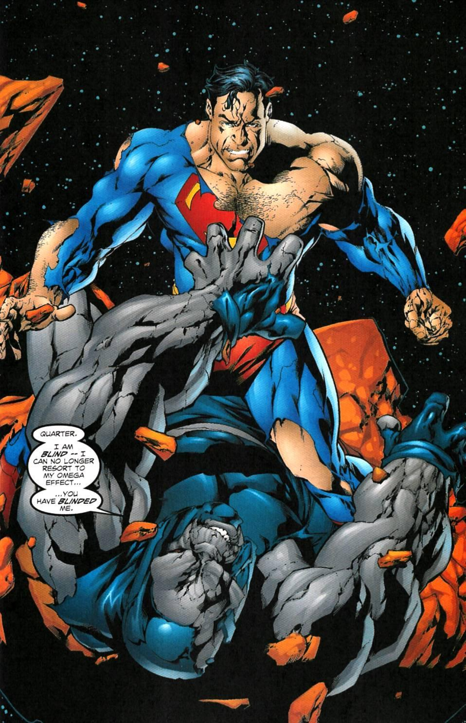 superman fighting darkseid   windows mode