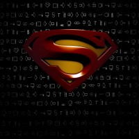 Superman-Logo-Black-Background