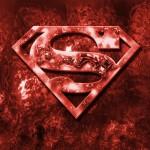 Superman logo red