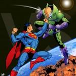 Superman vs lex luthor iphone6 wallpaper