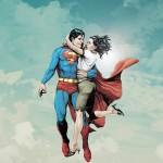 Superman with louis lane