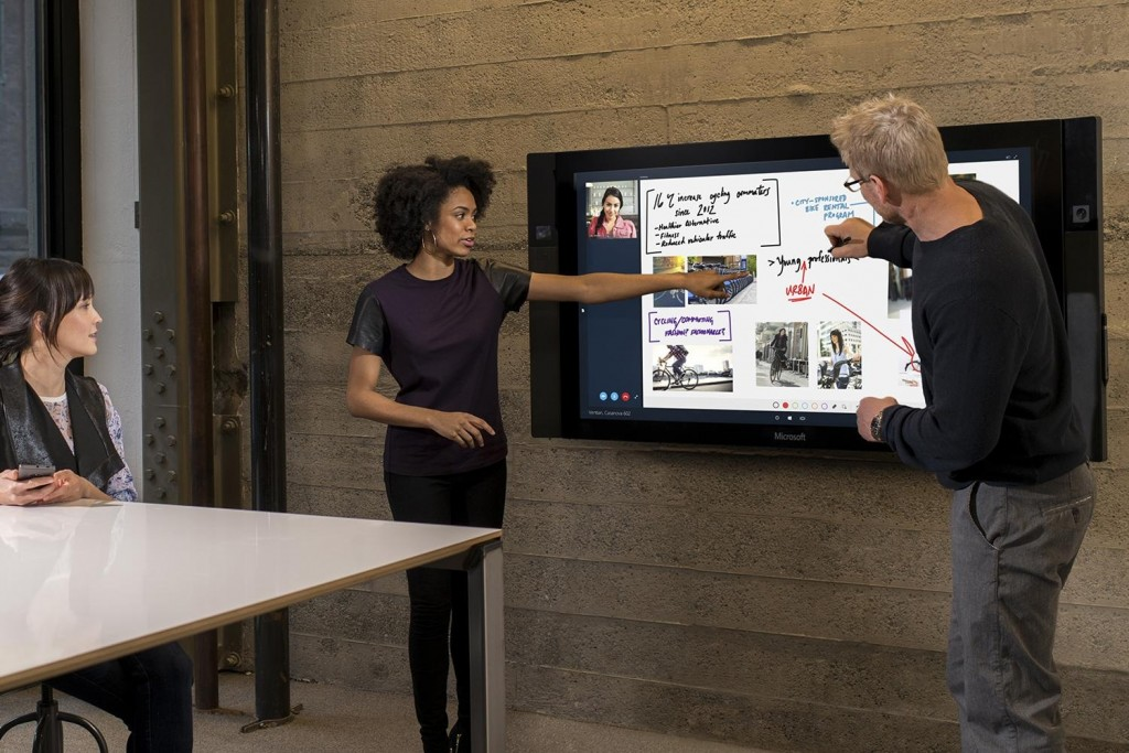 Microsoft Surface Hub Touch Screen