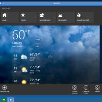Windows 10 app commands