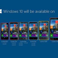 Windows 10 mobile phone list