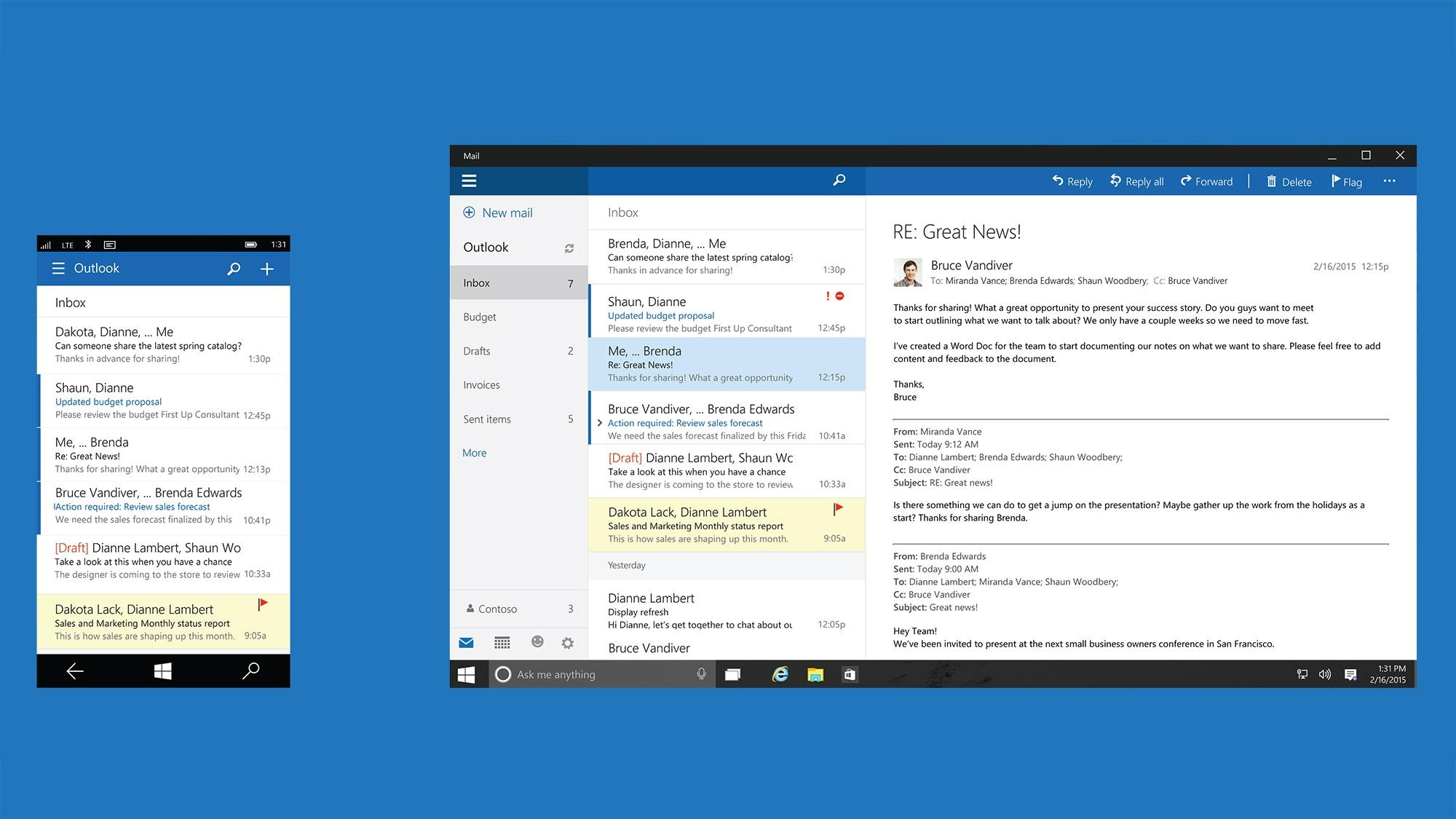 outlook 2018 update