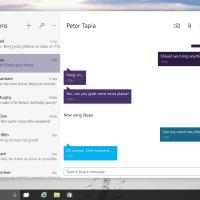 Windows 10 skype preview