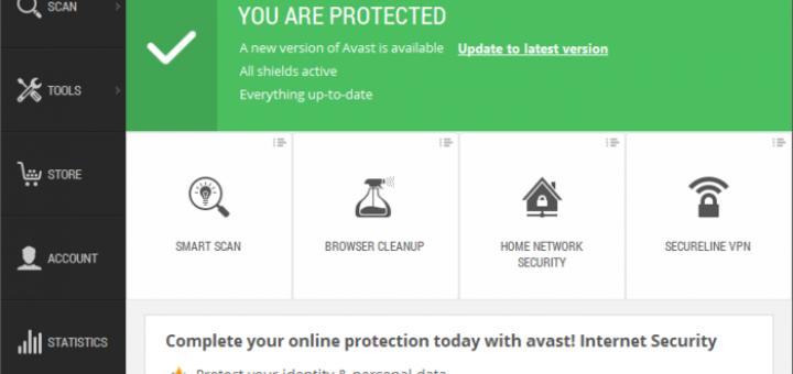 Avast free antivirus for windows10
