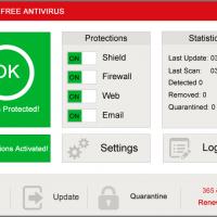 Avira antivirus on windows 8 1