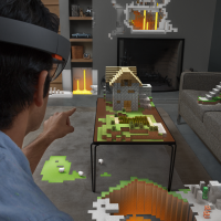 HoloLens-Minecraft-Game