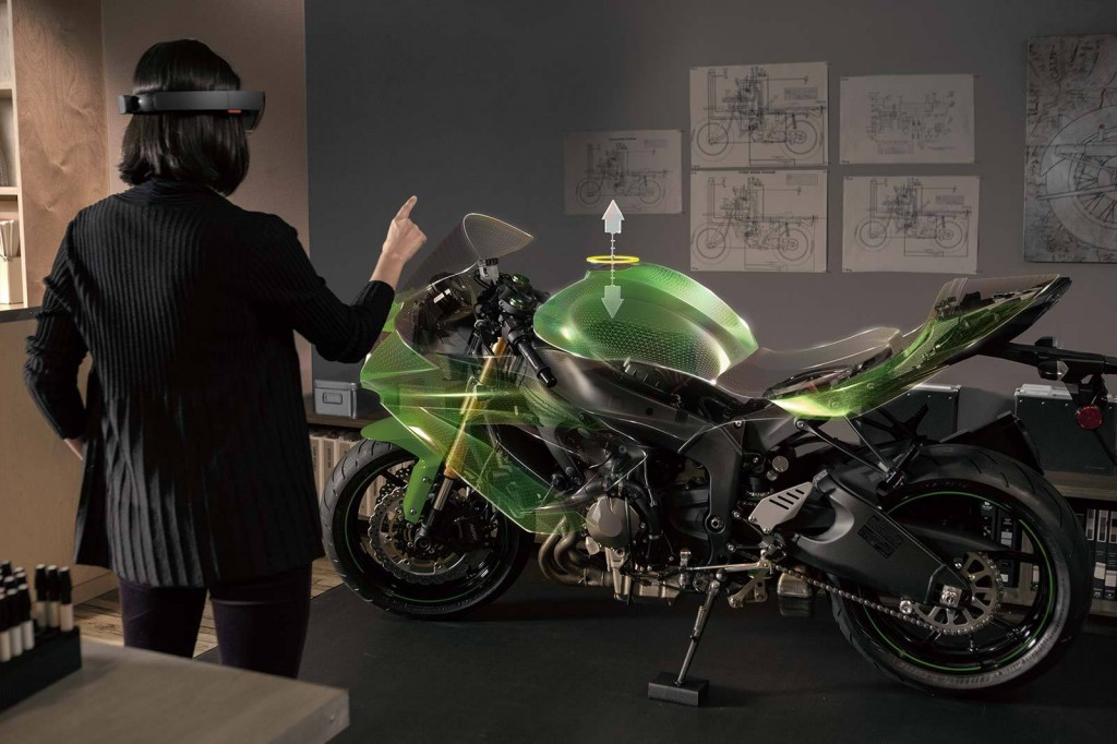 Microsoft HoloLens Bike Demo