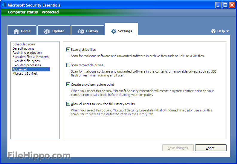 Download microsoft security essentials 4. 9. 0218. 10.