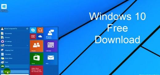 Install Windows 10 Free