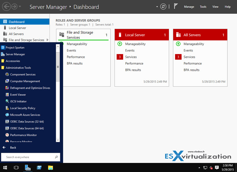 how to create a group policy in windows server 2016