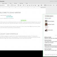 Zoho-Docs-Writer-App