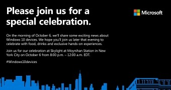 Microsoft Invites Users to New Windows 10 Device Party