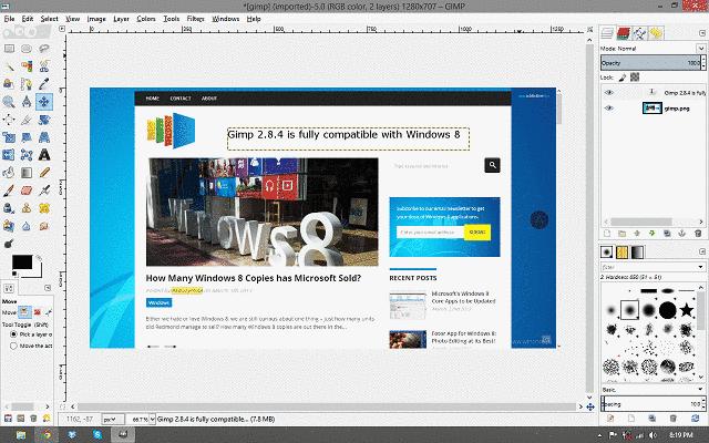 Gimp для windows 7 - фото 9