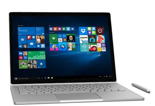 Surface Book Windows 10