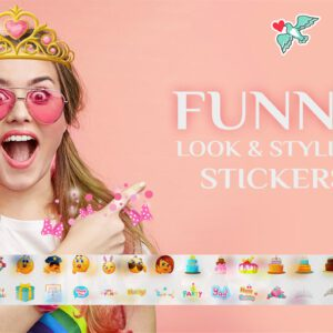 Add stickers to videos with Movie Creator