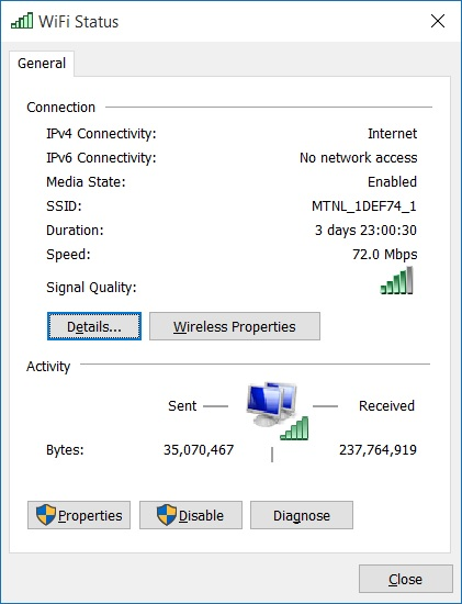 Windows 10 Wifi Problem