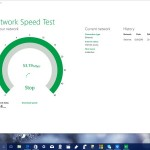 Network speed test on pc