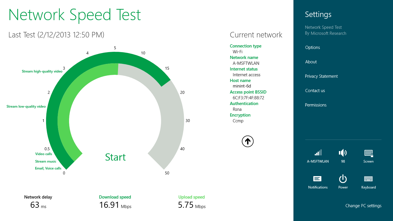 Download Network Speed Test  Windows 10 App