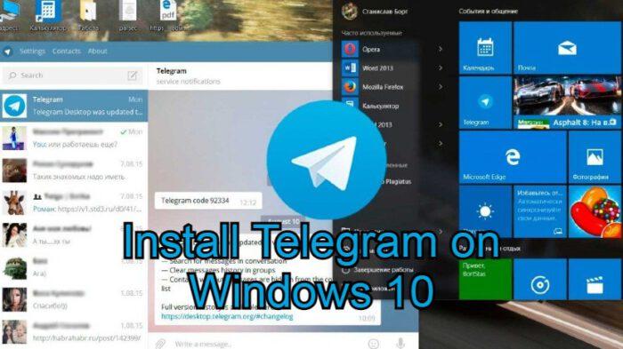 Telegram on windows 10
