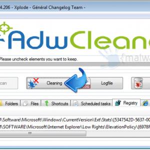 Adwcleaner app remove adware