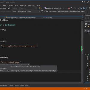 Visual studio 2015 debug