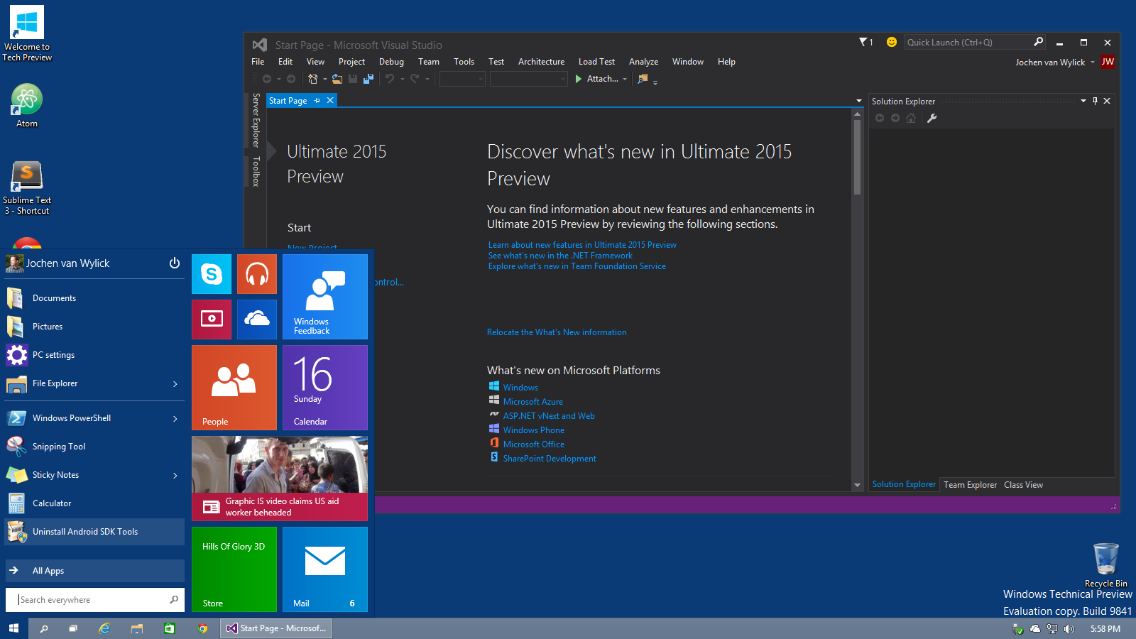 How to download and install visual studio 2015 ultimate youtube.