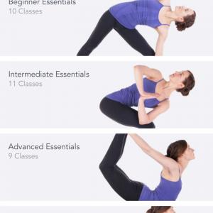 Yoga studio app classes
