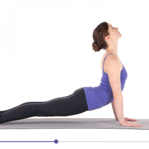 Yoga studio stretch vieo