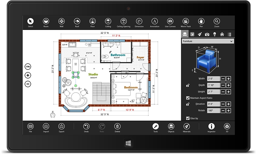 Download Live Interior 3D Pro For Windows 10