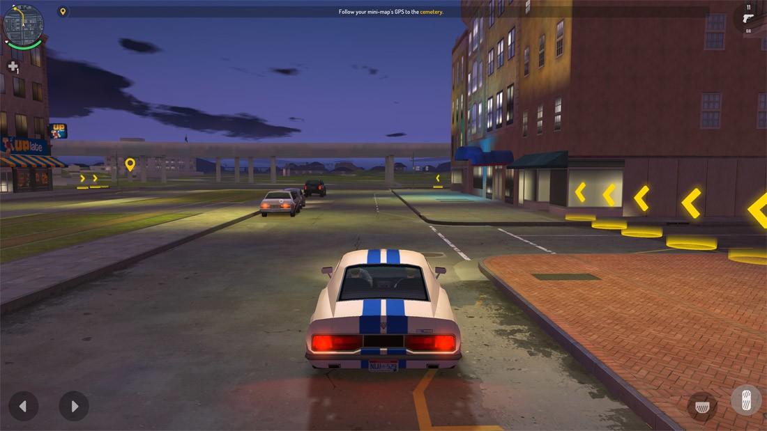 Gangstar new orleans car driving