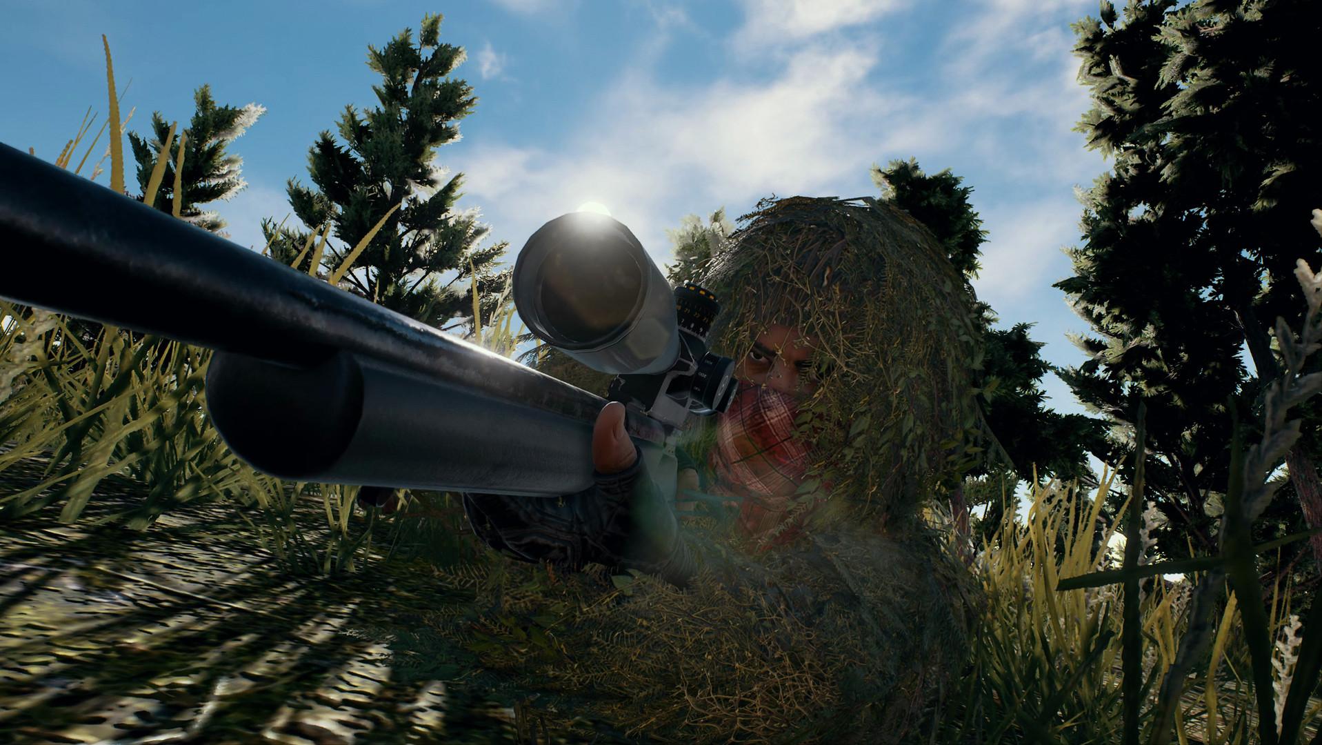 Playeruknowns battlegrounds sniper skin